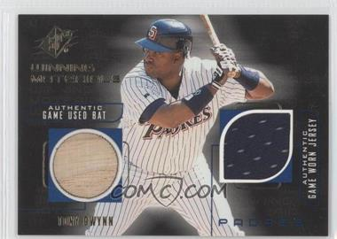 1999 SPx Winning Materials #TG - Tony Gwynn