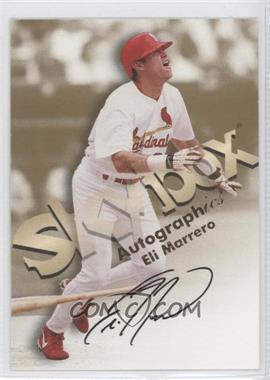 1999 Skybox Premium Autographics #ELMA - Eli Marrero