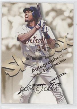 1999 Skybox Premium Autographics #JUEN - Juan Encarnacion