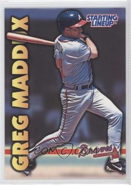 1999 Starting Lineup Cards #31 - Greg Maddux
