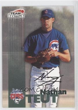 1999 Team Best - Autographs #NATE - Nate Teut