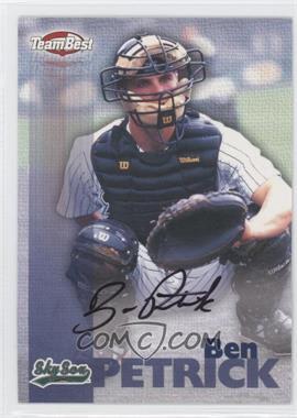 1999 Team Best Autographs #BEPE - Ben Petrick