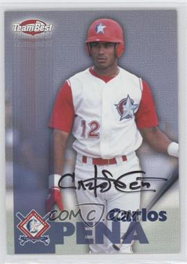 1999 Team Best Autographs #CAPE - Carlos Pena