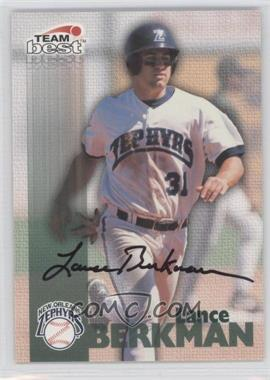 1999 Team Best Autographs #LABE - Lance Berkman