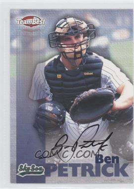 1999 Team Best Autographs #N/A - Ben Petrick