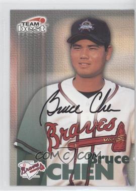 1999 Team Best Autographs #N/A - Bruce Chen