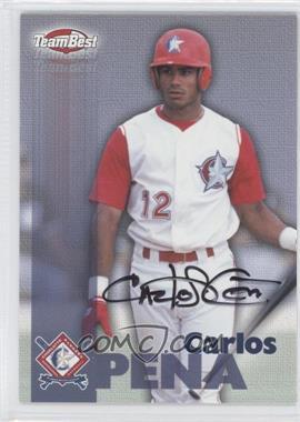 1999 Team Best Autographs #N/A - Carlos Pena