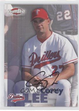 1999 Team Best Autographs #N/A - Corey Lee