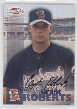 1999 Team Best Autographs #N/A - Grant Roberts