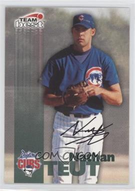 1999 Team Best Autographs #N/A - Nate Teut