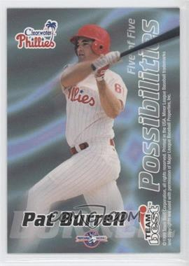 1999 Team Best Possibilities #5 - Pat Burrell, Brad Pennington