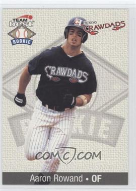 1999 Team Best Rookies - [Base] #74 - Aaron Rowand
