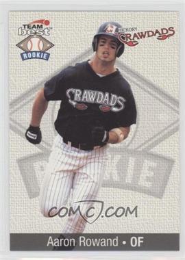 1999 Team Best Rookies #74 - Aaron Rowand