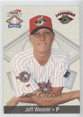 1999 Team Best Rookies #94 - Jeff Weaver
