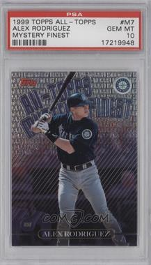 1999 Topps All-Topps Mystery Finest - [Base] #M7 - Alex Rodriguez [PSA 10]