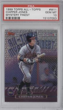 1999 Topps All-Topps Mystery Finest #M11 - Chipper Jones [PSA 10]