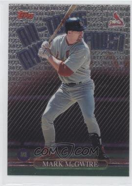 1999 Topps All-Topps Mystery Finest #M3 - Mark McGwire