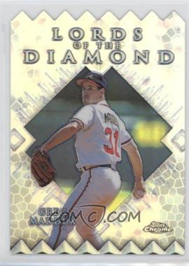 1999 Topps Chrome - Lords of the Diamond - Refractor #LD15 - Greg Maddux