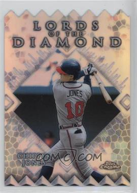 1999 Topps Chrome - Lords of the Diamond - Refractor #LD2 - Chipper Jones
