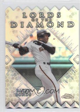 1999 Topps Chrome - Lords of the Diamond - Refractor #LD9 - Barry Bonds