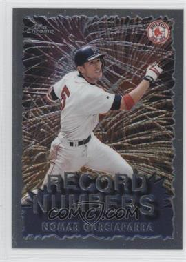 1999 Topps Chrome - Record Numbers #RN6 - Nomar Garciaparra
