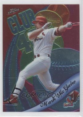 1999 Topps Chrome [???] #AE1 - Mark McGwire