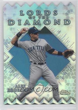 1999 Topps Chrome [???] #LD7 - Alex Rodriguez