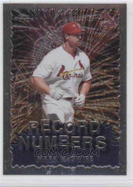 1999 Topps Chrome [???] #RN10 - Mark McGwire