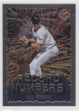 1999 Topps Chrome [???] #RN9 - Cal Ripken Jr.