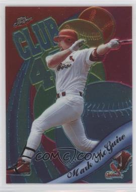 1999 Topps Chrome All-Etch #AE1 - Mark McGwire