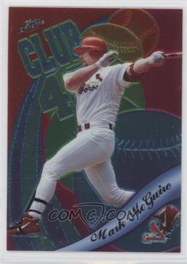 1999 Topps Chrome All-Etch #AE1 - Mark McGwire