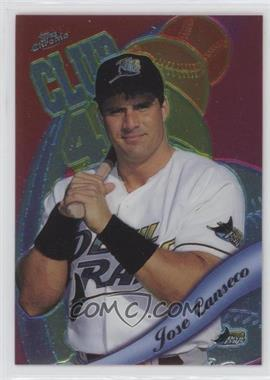 1999 Topps Chrome All-Etch #AE7 - Jose Canseco