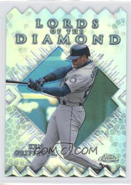 1999 Topps Chrome Lords of the Diamond Refractor #LD1 - Ken Griffey Jr.