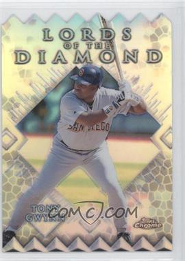 1999 Topps Chrome Lords of the Diamond Refractor #LD12 - Tony Gwynn