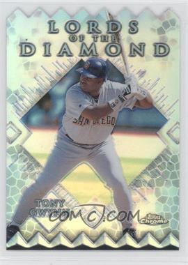 1999 Topps Chrome Lords of the Diamond Refractor #LD12 - Tony Gwynn