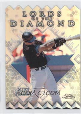 1999 Topps Chrome Lords of the Diamond Refractor #LD14 - Mike Piazza