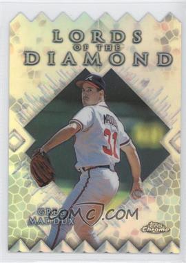 1999 Topps Chrome Lords of the Diamond Refractor #LD15 - Greg Maddux