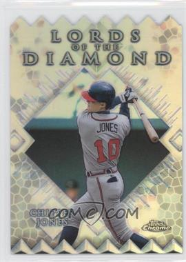 1999 Topps Chrome Lords of the Diamond Refractor #LD2 - Chipper Jones