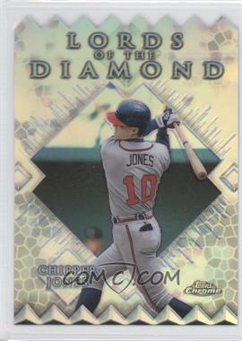 1999 Topps Chrome Lords of the Diamond Refractor #LD2 - Chipper Jones