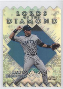 1999 Topps Chrome Lords of the Diamond Refractor #LD7 - Alex Rodriguez