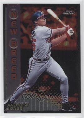 1999 Topps Chrome New Breed #NB12 - Andruw Jones