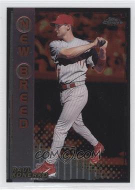 1999 Topps Chrome New Breed #NB13 - Paul Konerko