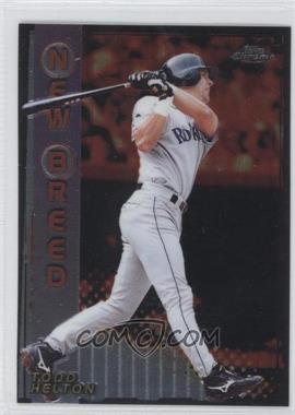 1999 Topps Chrome New Breed #NB7 - Todd Helton