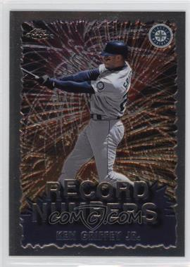 1999 Topps Chrome Record Numbers #RN4 - Ken Griffey Jr.