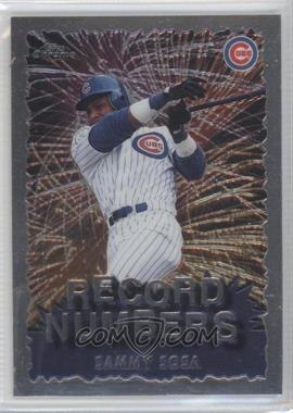 1999 Topps Chrome Record Numbers #RN5 - Sammy Sosa