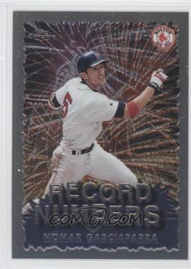 1999 Topps Chrome Record Numbers #RN6 - Nomar Garciaparra