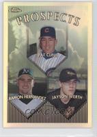 Ramon Hernandez, Jayson Werth, Pat Cline
