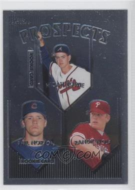 1999 Topps Chrome #428 - Phil Norton, Randy Wolf, Micah Bowie