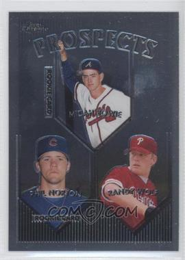 1999 Topps Chrome #428 - Phil Norton, Randy Wolf