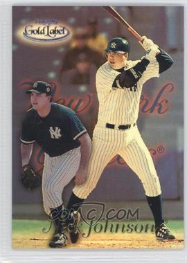 1999 Topps Gold Label Black Class 3 #33 - Nick Johnson